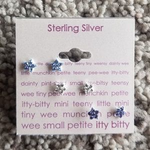 Brand new!! Sterling silver Earing Set